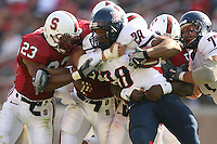 14 October 2006: Brandon Harrison during Stanford's 20-7 loss to Arizona during Homecoming at Stanford Stadium in Stanford, CA.