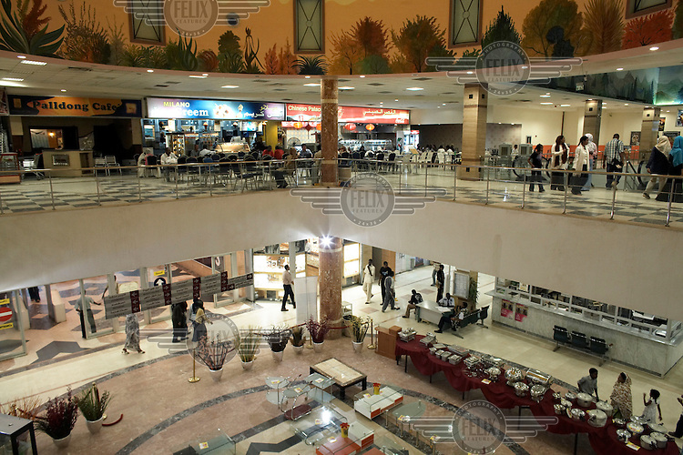 Khartoum's first mall 'Afra' opened in 2004 and has become popular with affluent Sudanese.
