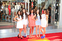 LOS ANGELES - FEB 14: Fifth Harmony at the Topshop Topman LA Grand Opening at The Grove on February 14, 2013 in Los Angeles, California