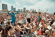 "Dallas, Texas, USA, June, 1972, Explo 72. The ""Campus Crusade for Christ"" gathered 80,000 faithful during 5 days to listen to evangelist including Billy Graham, singers such as Johnny cash, groups like Love Song and for the first time ever, rock groups."