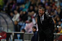 5.05.2012 SPAIN -  La Liga matchday 37th  match played between Atletico de Madrid vs Malaga (2-1) at Vicente Calderon stadium. The picture show Diego Pablo Simeone coach of Atletico de Madrid