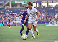 Orlando, FL - Saturday Sept. 24, 2016: Brittany Taylor during a regular season National Women's Soccer League (NWSL) match between the Orlando Pride and FC Kansas City at Camping World Stadium.