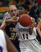 Clarkston at Auburn Hills Avondale, girls varsity basketball, 1/5/12