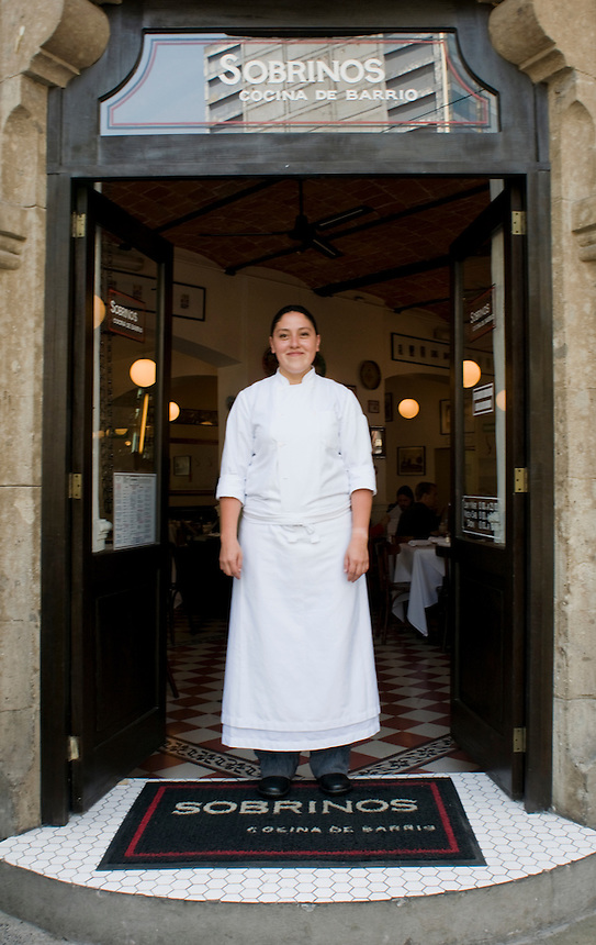Sobrinos restaurant, chef Robert Craig's restaurant in Colonia Roma, Mexico City.