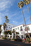 Downtown Santa Barbara, California
