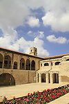 Israel, Upper Galilee, the Saraya building in Safed