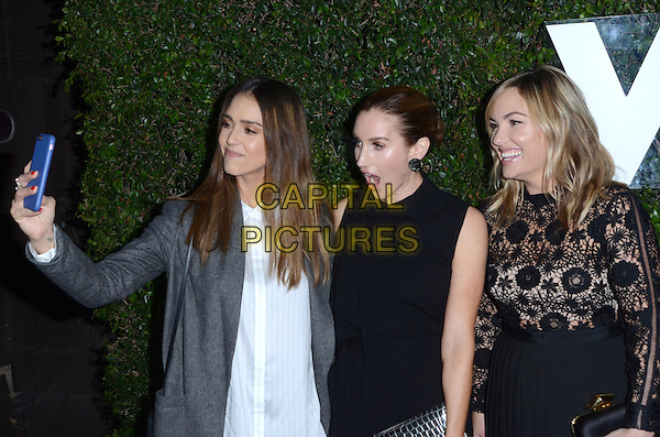 LOS ANGELES, CA - NOVEMBER 02: Jessica Alba, Katherine Power and Hillary Kerr at The Who What Wear 10th Anniversary #WWW10 Experience At W Los Angeles in Who What Wear Store, California on November 2, 2016. <br /> CAP/MPI/DE<br /> &copy;DE/MPI/Capital Pictures