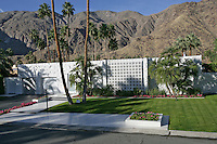 Mid-century Palm Springs house