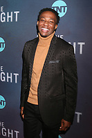 "LOS ANGELES - JAN 24:  Arlen Escarpeta at the ""I Am The Night"" Premiere Screening at the Harmony Gold Theater on January 24, 2019 in Los Angeles, CA"