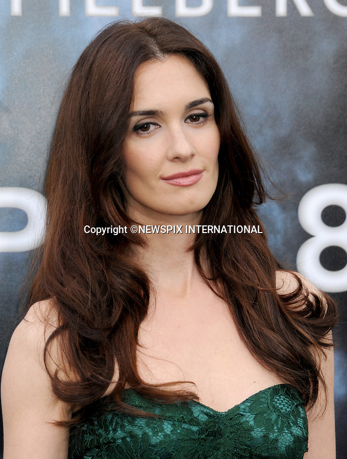 "PAZ VEGA.attends the Los Angeles Premiere of ""Super 8"" at the Regency Village Theater on June 8, 2011, Westwood, California.Mandatory Photo Credit: ©Crosby/Newspix International. .**ALL FEES PAYABLE TO: ""NEWSPIX INTERNATIONAL""**..PHOTO CREDIT MANDATORY!!: NEWSPIX INTERNATIONAL(Failure to credit will incur a surcharge of 100% of reproduction fees)..IMMEDIATE CONFIRMATION OF USAGE REQUIRED:.Newspix International, 31 Chinnery Hill, Bishop's Stortford, ENGLAND CM23 3PS.Tel:+441279 324672  ; Fax: +441279656877.Mobile:  0777568 1153.e-mail: info@newspixinternational.co.uk"