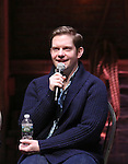 Rory O'Malley during a Q & A before the Gilder Lehman Institute of American History Education Matinee of 'Hamilton' at the Richard Rodgers  Theatre on December 15, 2016 in New York City.
