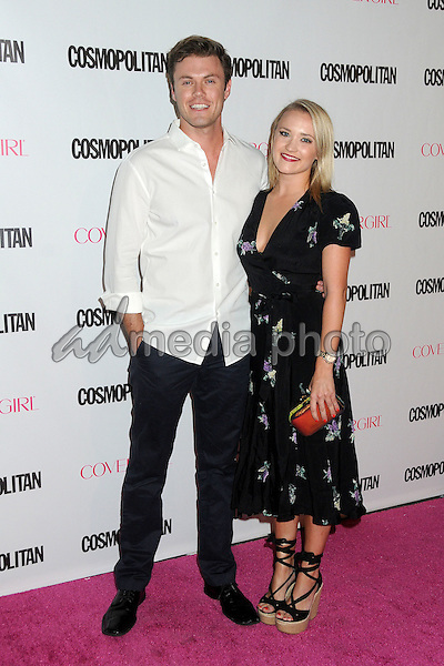 12 October 2015 - Hollywood, California - Blake Cooper Griffin, Emily Osment. Cosmopolitan 50th Birthday Celebration held at Ysabel. Photo Credit: Byron Purvis/AdMedia