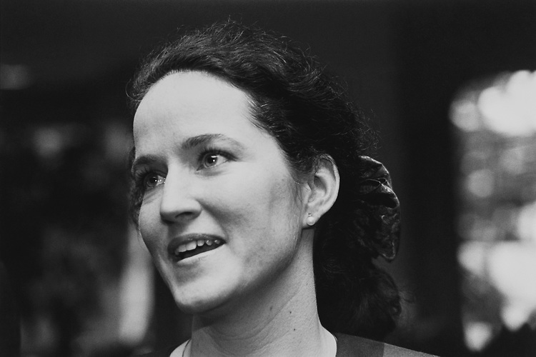 Close-up of Candidate Megan O'Neil, R-Mich., onSep. 22, 1992. (Photo by CQ Roll Call via Getty Images)