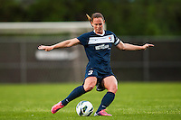 Sky Blue FC defender Christie Rampone (3). Sky Blue FC defeated the Seattle Reign FC 2-0 during a National Women's Soccer League (NWSL) match at Yurcak Field in Piscataway, NJ, on May 11, 2013.
