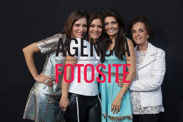 Sao Paulo, Brasil - 31/10/2013 - Liliane Motta, Patricia Motta e Claudia Motta e Neida Motta no desfile de Patricia Motta durante o SPFW  - Inverno 2014. <br /> Foto : Barbara Dutra/ FOTOSITE