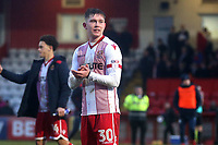 Mark McKee of Stevenage during Stevenage vs Luton Town, Sky Bet EFL League 2 Football at the Lamex Stadium on 10th February 2018