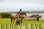 "Abbey Troy from Boherbue, riding ""Double Trouble"" at the KERRY PONY SOCIETY  36th Year Annual Show & Gymkhana At Blennerville, By kind permission of the Hurley Family"