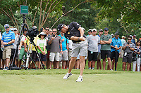 Lee Westwood (ENG) tees off the 11th tee during Wednesday's Practice Day of the 2017 PGA Championship held at Quail Hollow Golf Club, Charlotte, North Carolina, USA. 9th August 2017.<br /> Picture: Eoin Clarke | Golffile<br /> <br /> <br /> All photos usage must carry mandatory copyright credit (&copy; Golffile | Eoin Clarke)