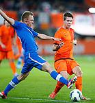 Nederland, Rotterdam, 15 oktober 2012.Interland.Jong Oranje-Jong Slowakije.Marco van Ginkel (r.) van Jong Oranje