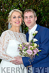 Katie Brosnan, Castleisland, daughter of Maura&Billy and Denis O'Connor, son of DenJoe&Patricia also Castleisland who married last Saturday April 29th in St Josephs&John church in the town. Fr Dan O'Riordan officiated. Bestman was Vincent O'Connor, growmsmen were John Lyons&Vincent Keane. 1st bridesmaid was Emma Brosnan, others were Ailish McGillycuddy&Maura McLoughlin. Flower girls were Ellie Brosnan and Cara Corkery. Pageboys were Danny Costello and Ryan O'Connor. The reception was in the Ballygarry house hotel, Tralee and the couple will reside in Castleisland.