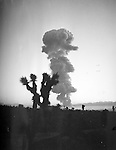 Open air Atomic detonation at the Nevada Proving Grounds. 1 June 1952