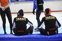 SCHAATSEN: HEERENVEEN: Thialf, 4th Masters International Speed Skating Sprint Games, 25-02-2012, Competitors Japan, ©foto: Martin de Jong