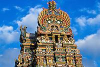 Sri Meenakshi Temple (This Hindu temple is dedicated to Shiva and his consort Parvati), Madurai, Tamil Nadu, India