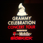 HOLLYWOOD, CA. - April 09: Signage at the 2009 Grammy Celebration Concert Tour presented by T-Mobile Sidekick at the Hollywood Palladium on April 9, 2009 in Hollywood, California.