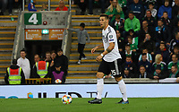 Niklas Süle (Deutschland Germany) - 09.09.2019: Nordirland vs. Deutschland, Windsor Park Belfast, EM-Qualifikation DISCLAIMER: DFB regulations prohibit any use of photographs as image sequences and/or quasi-video.