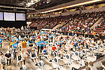 Concept2 Crash-B World Indoor Rowing Championships, 2012, Junior Men, athletes compete annually on a Concept2 Indoor Rower for time over 2000 meters, Agganis Arena, Boston University, Boston, Massachusetts,