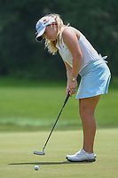 Bronte Law (ENG) watches her putt on 10 during round 4 of the 2018 KPMG Women's PGA Championship, Kemper Lakes Golf Club, at Kildeer, Illinois, USA. 7/1/2018.<br /> Picture: Golffile | Ken Murray<br /> <br /> All photo usage must carry mandatory copyright credit (&copy; Golffile | Ken Murray)