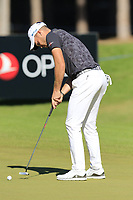Danny Willett (ENG) putts on the 10th green during Thursday's Round 1 of the 2018 Turkish Airlines Open hosted by Regnum Carya Golf &amp; Spa Resort, Antalya, Turkey. 1st November 2018.<br /> Picture: Eoin Clarke | Golffile<br /> <br /> <br /> All photos usage must carry mandatory copyright credit (&copy; Golffile | Eoin Clarke)