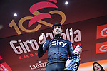 Mikel Landa (ESP) Team Sky wins Stage 19 of the 100th edition of the Giro d'Italia 2017, running 191km from San Candido/Innichen to Piancavallo, Italy. 26th May 2017.<br /> Picture: LaPresse/Gian Mattia D'Alberto | Cyclefile<br /> <br /> <br /> All photos usage must carry mandatory copyright credit (&copy; Cyclefile | LaPresse/Gian Mattia D'Alberto)