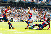 9th September 2017, Santiago Bernabeu, Madrid, Spain; La Liga football, Real Madrid versus Levante; Lucas Vaazquez Iglesias (17) of Real Madrid