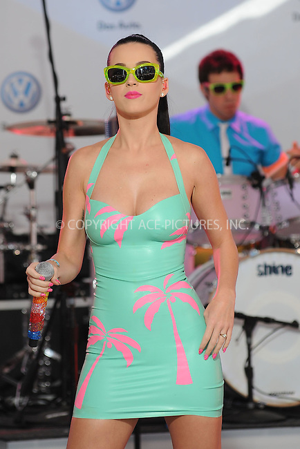 WWW.ACEPIXS.COM . . . . . ....June 15 2010, New York City....Singer Katy Perry performs at the unveiling of Volkswagen's new Jetta compact sedan at Times Square on June 15, 2010 in New York City.....Please byline: KRISTIN CALLAHAN - ACEPIXS.COM.. . . . . . ..Ace Pictures, Inc:  ..tel: (212) 243 8787 or (646) 769 0430..e-mail: info@acepixs.com..web: http://www.acepixs.com