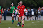 NELSON, NEW ZEALAND - APRIL 13: Chris Little heads for the try line,  Stoke v Marist in the semi final of Nelson Sub union competition on April 13 at Trafalgar Park 2019 in Nelson, New Zealand. (Photo by: Evan Barnes Shuttersport Limited)