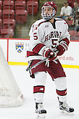 Clay Anderson (Harvard - 5) - The Harvard University Crimson defeated the visiting Rensselaer Polytechnic Institute Engineers 5-2 in game 1 of their ECAC quarterfinal series on Friday, March 11, 2016, at Bright-Landry Hockey Center in Boston, Massachusetts.