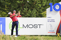 Mike Lorenzo-Vera (FRA) on the 10th tee during Round 1 of the D+D Real Czech Masters at the Albatross Golf Resort, Prague, Czech Rep. 31/08/2017<br /> Picture: Golffile | Thos Caffrey<br /> <br /> <br /> All photo usage must carry mandatory copyright credit     (&copy; Golffile | Thos Caffrey)