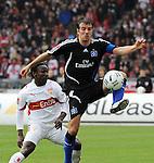 Fussball 1.BL 2007/2008: FC Schalke 04 - Hansa Rostock und VfB Stuttgart - Hamburger SV