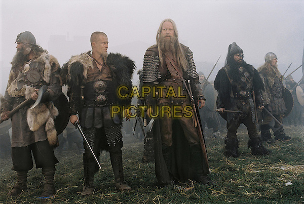 TIL SCHWEIGER, STELLAN STARGARD & BRIAN McGUINESS.in King Arthur.Filmstill - Editorial Use Only.CAP/AWFF.supplied by Capital Pictures.