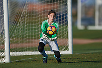 Frisco, TX - October 22, 2017: The U.S. Soccer Development Academy 2017 U-13/U-14 Central Regional Showcase at Toyota Soccer Center.
