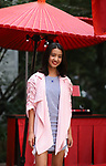 """September 27, 2019, Tokyo, Japan - Japanese model Koki smiles as she attends a press preview of French fashion brand Chanel's cosmetics peomotional event """"Chanel Matsuri"""" (Chanel festival) at the Tenso shrine in Tokyo on Thursday, September 27, 2018. 15-year-old Koki, a daughter of Japanese actor Takuya Kimura and singer Shizuka Kudo became Chanel's beauty ambassador this month.   (Photo by Yoshio Tsunoda/AFLO) LWX -ytd-"""