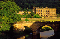 England. Chatsworth House Stately Home..Derbyshire.