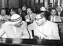Jordan 1958 <br /> In the parliament of Amman,during the Arab Federation of Iraq and Jordan , 2nd row in the middle,, Zayd Ahmad Othman  <br /> Jordan 1958<br /> Au parlement d'Amman, pendant l'Union Arabe ( Federation arabe d'Irak et de Jordanie ), 2eme rang, au milieu,Zayd Ahmad Othman