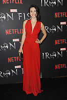 www.acepixs.com<br /> March 15, 2017  New York City<br /> <br /> Jessica Henwick attending Marvel's 'Iron Fist' New York screening at AMC Empire 25 on March 15, 2017 in New York City.<br /> <br /> Credit: Kristin Callahan/ACE Pictures<br /> <br /> <br /> Tel: 646 769 0430<br /> Email: info@acepixs.com