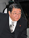 September 2, 2011, Tokyo, Japan - Japan's new Chief Cabinet Minister Osamu Fujimura arrives for an attestation ceremony before Emperor Akihito at the Imperial Palace in Tokyo on Friday, September 2, 2011. (Photo by Natsuki Sakai/AFLO) [3615] -mis-