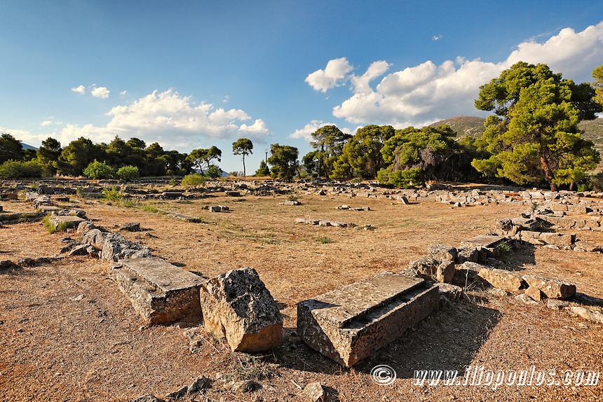 The Katagogion in Epidaurus (4th cent.  B.C.), Greece