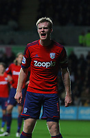 Sunday, 28 November 2012<br /> Pictured: Chris Brunt.<br /> Re: Barclays Premier League, Swansea City FC v West Bromwich Albion at the Liberty Stadium, south Wales.
