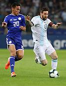 2019 Copa America Football Argentina v Paraguay Jun 19th