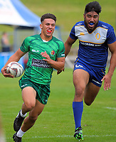 Manawatu Men v Otago. Day one of the 2018 Bayleys National Sevens at Rotorua International Stadium in Rotorua, New Zealand on Saturday, 13 January 2018. Photo: Dave Lintott / lintottphoto.co.nz